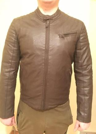 Куртка з еко-шкіри unity