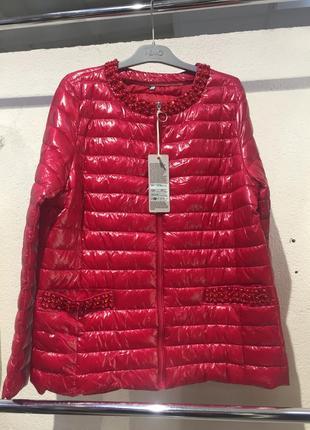 Куртка весна италия 46-56 размеры