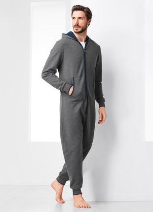 Мужской утеплённый кигуруми комбинезон размер 50 5xl германия tcm tchibo слип пижама