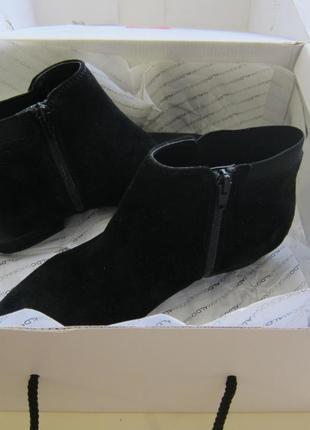 Замшеві черевички aldo