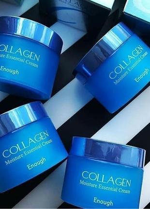 Увлажняющий крем для лица #enough collagen essential moisture cream