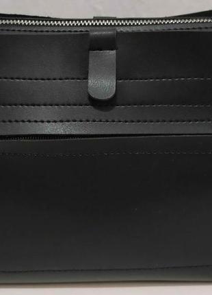 Женский стильный клатч (чёрный) 20-01-060