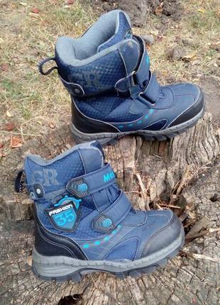 Термо ботинки meekone, сапоги, сапожки, мембрана, зимние, на мембране,фирменные.