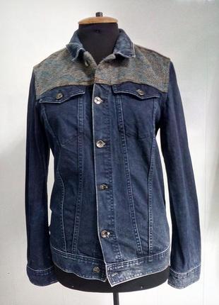 Джинсовый пиджак - (м)