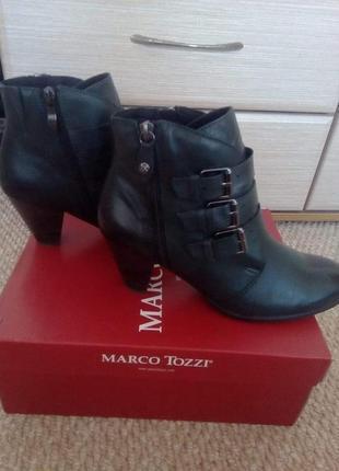 Ботильоны полусапожки ботинки marco tozzi