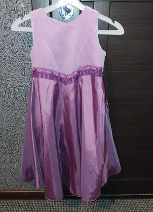 Платье выпускное парадное бальное