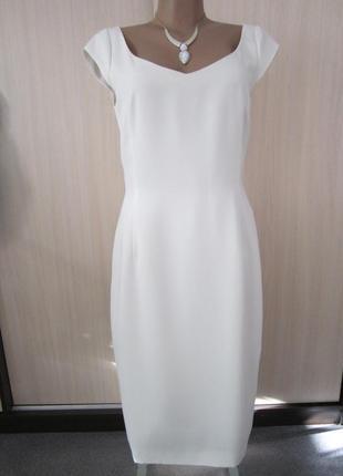 Белое платье luis civit