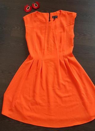 Яркое летнее платье от topshop