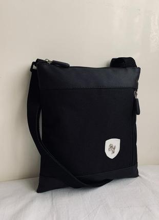 Новая шикарная сумка ткань + pu кожа / барсетка / бананка /слинг