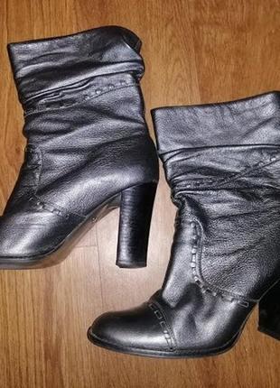 ✨✨✨стильные серебристые женские кожаные сапожки, полусапожки, ботильоны 39 р. faith🔥🔥🔥