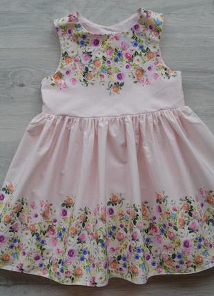Красивое платье на 2-3 года