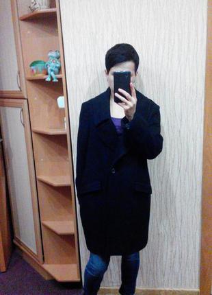 Пальто бойфренд кокон topshop1