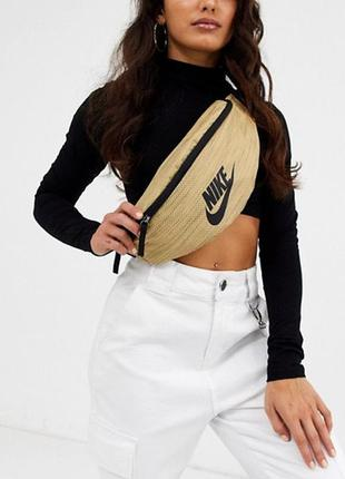 Сумка на пояс на плече бананка nike heritage bum bag барсетка puma