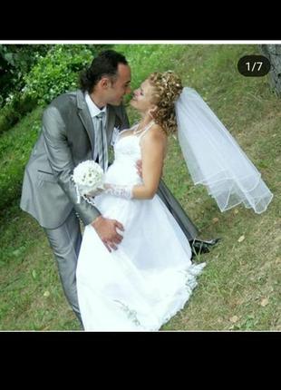 Весільна сукня в греческому стилі