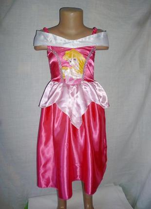 Платье принессы авроры на 3-5 лет