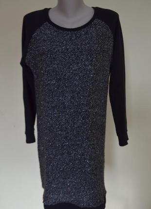 Шикарное теплое платье туника