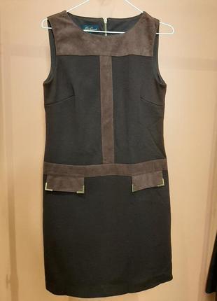 Платье и кейп из шерсти