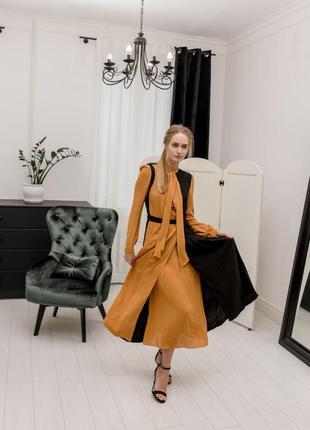 Zara платье с бантом , s, m