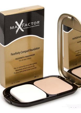 Пудра компактная max factor facefinity