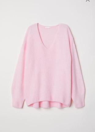 Шикарный оверсайз свитер свободного кроя h&m