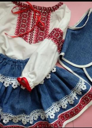 Дитячий костюм в українському стилі