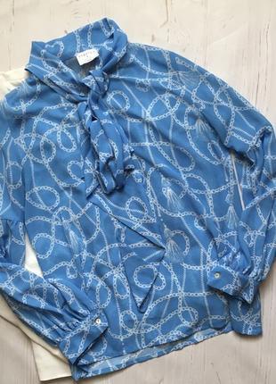 Красивая блуза с бантом(l)