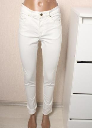Белые джинсы скинни h&m 38 размер м