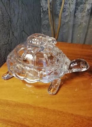 Хрустальная черепаха, шкатулка