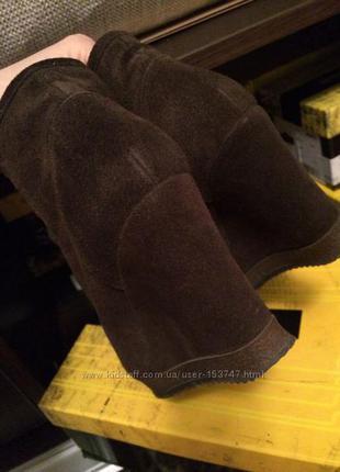 Продам замшевые ботиночки antonio biaggi, разм 36, замшевые