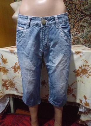 Шорты-бриджи (джинс)
