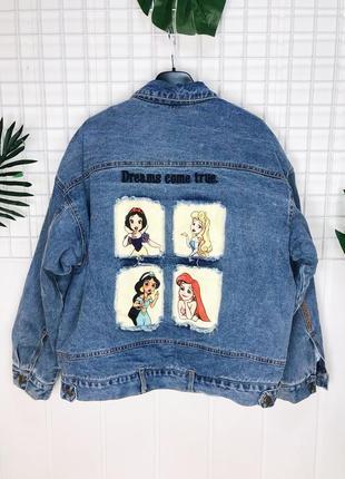 Женская утеплённая джинсовая куртка