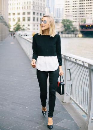 Xl/50 черная женская кофта, дафлкот, vero moda jeans, новая
