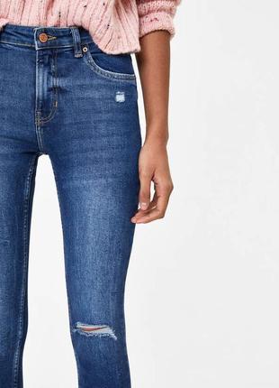 Крутые джинсы скини bershka4 фото