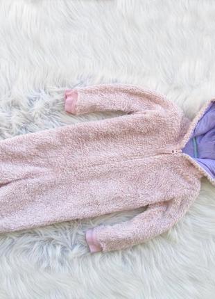 Ромпер человечек комбинезон пижама с капюшоном  marks & spencer единорог