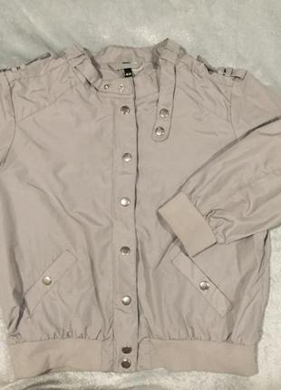 Курточка бомбер тонкий,лёгенький на весну и лето