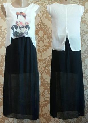 Оригинальное платье. fashion. размер 36