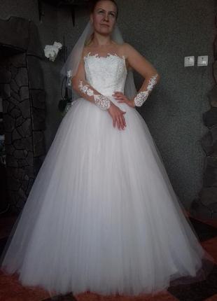 Свадебное платье anetta/ весільна сукня9 фото