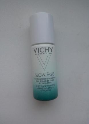 Ежедневный флюид для кожи лица против признаков старения vichy slow age