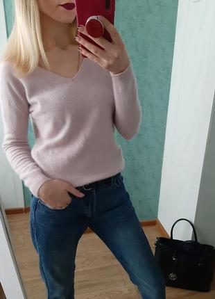 Кашемировый 100% свитер, джемпер