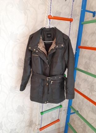 Стильная куртка -парка