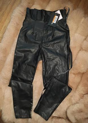 Кожаные штаны, лосины, брюки