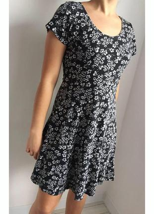 Платье с цветочками atmosphere, сукня.
