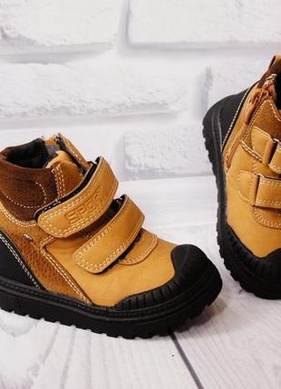 Деми ботинки мальчику