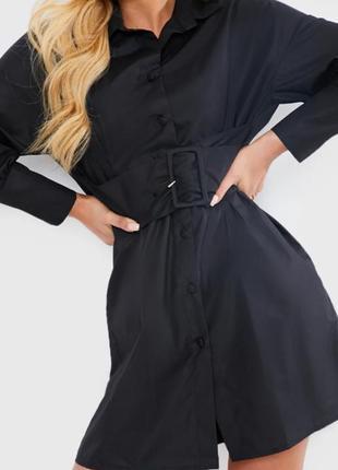 In the style.товар из англии.платье рубашка с поясом.