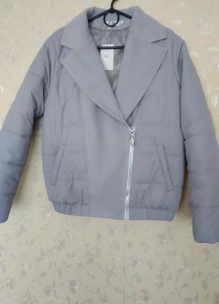 Куртка пиджак косуха  с замшевые вставки