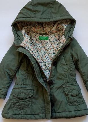 Курточка на весну, демисезонная куртка парка на девочку