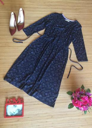 Стильное платье на запах,размер l