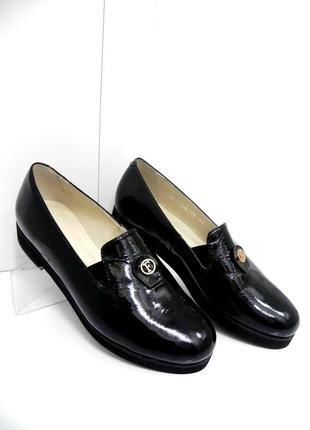 Стильные кожаные лоферы туфли мокасины 36,