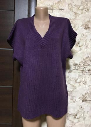 Мягкая комфортная жилетка,пуловер,джемпер ambria
