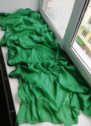 Красивий фірмовий шовковий шарф палантин шведського бренду gudrun sjödén!!! оригінал!!!